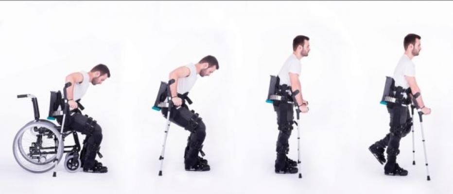 El primer robot vestible con 'tobillos' para volver a andar